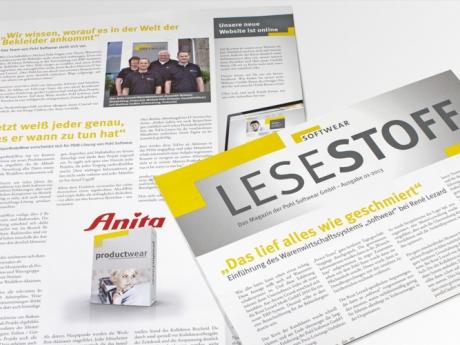 Pohl Softwear GmbH Kundenzeitung