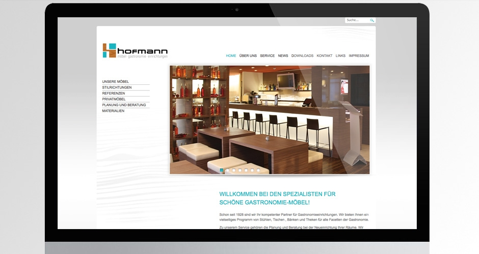 hofmann m bel werbeagentur f r werbung direktmarketing internetdesign. Black Bedroom Furniture Sets. Home Design Ideas