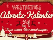 Wertheimer Adventskalender 2014